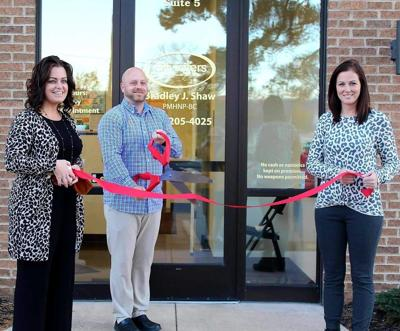 Still Waters Mental Health Services ribbon cutting
