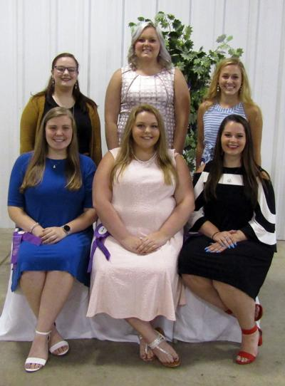 Clearfield County Fair Queen contestants