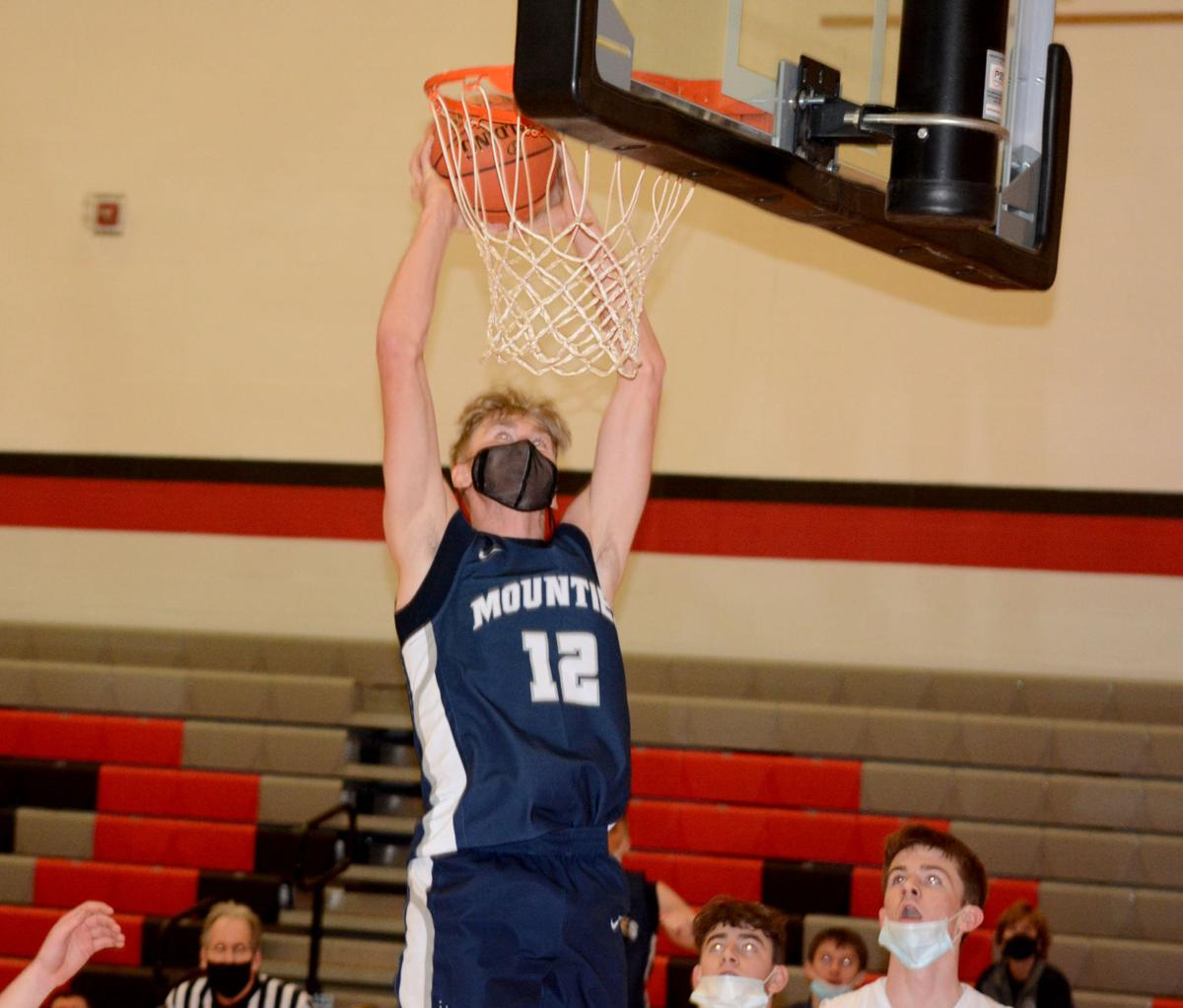 Ryan Whitehead dunk