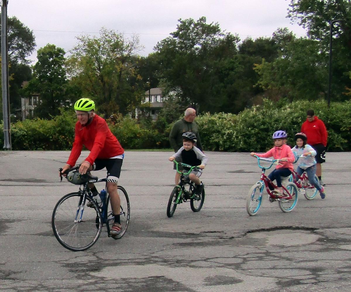 JOHN FARR Bike ride