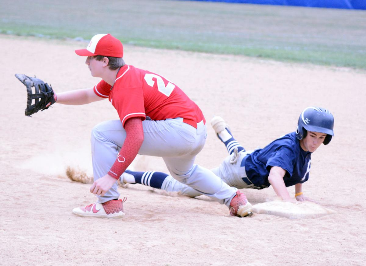 Gustkey dives back to first