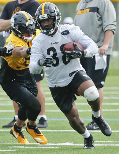 0a9c71b17ab Pass-blocking remains challenge for Steelers rookie RB Jaylen Samuels