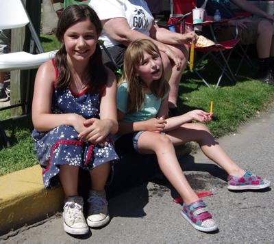 Everyone Loves a parade and freeze pops