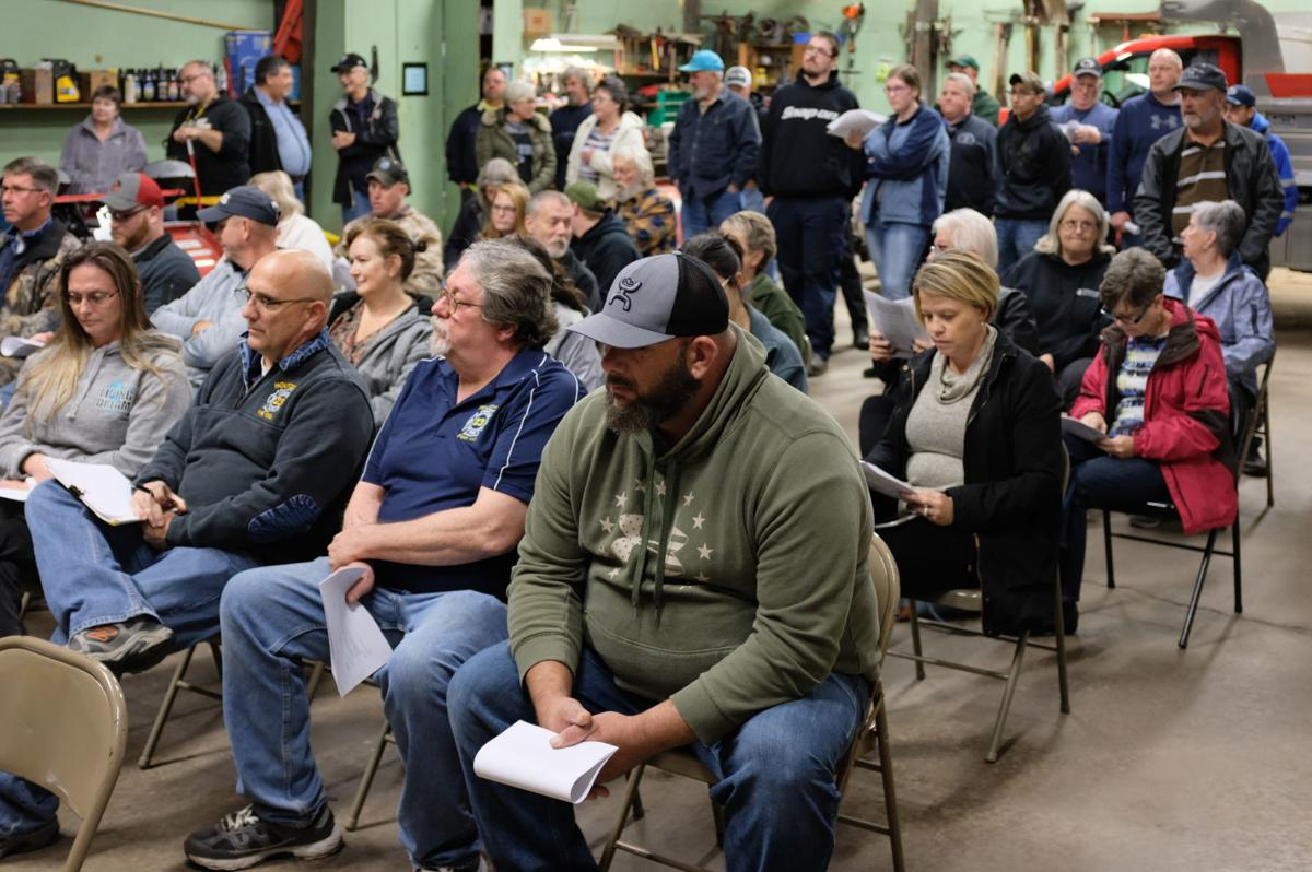 Residents fill Woodward Twp. meeting