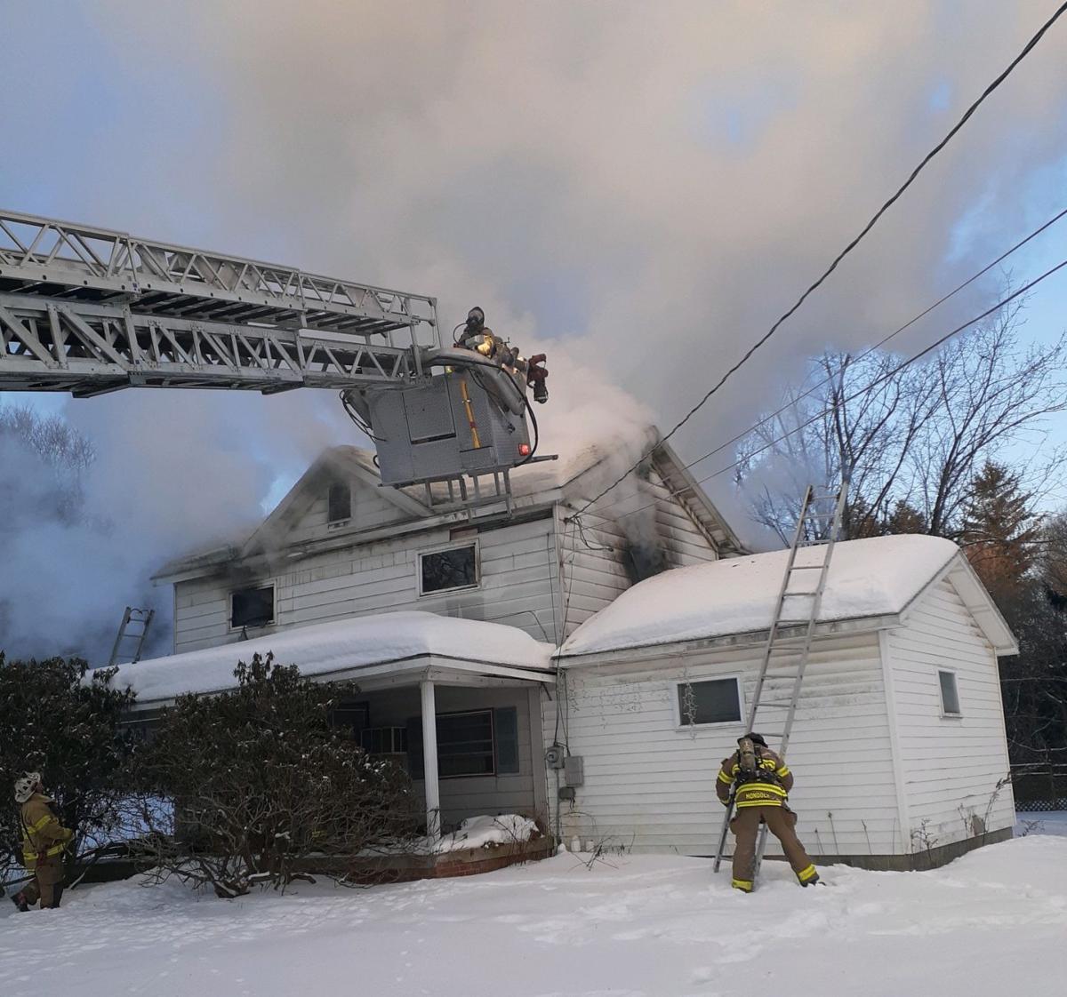 Morrisdale fire 1