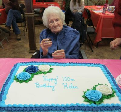 FORMER LAJOSE RESIDENT 100th Helen Young