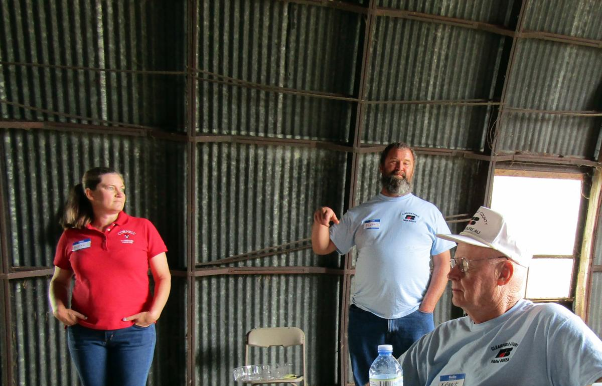 Farm Tour Dr. Andrea and Bryan Loar