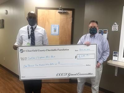 CCCF presents grant to CenClear