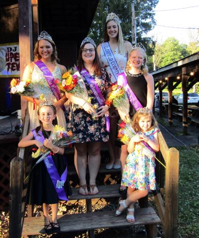FIVE CROWNED AS MISS CURWENSVILLE DAYS