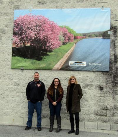 Visit Clearfield County mural