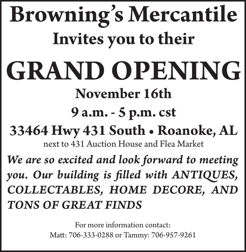Browning's Mercantile