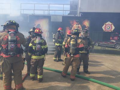 Randolph County VFD training