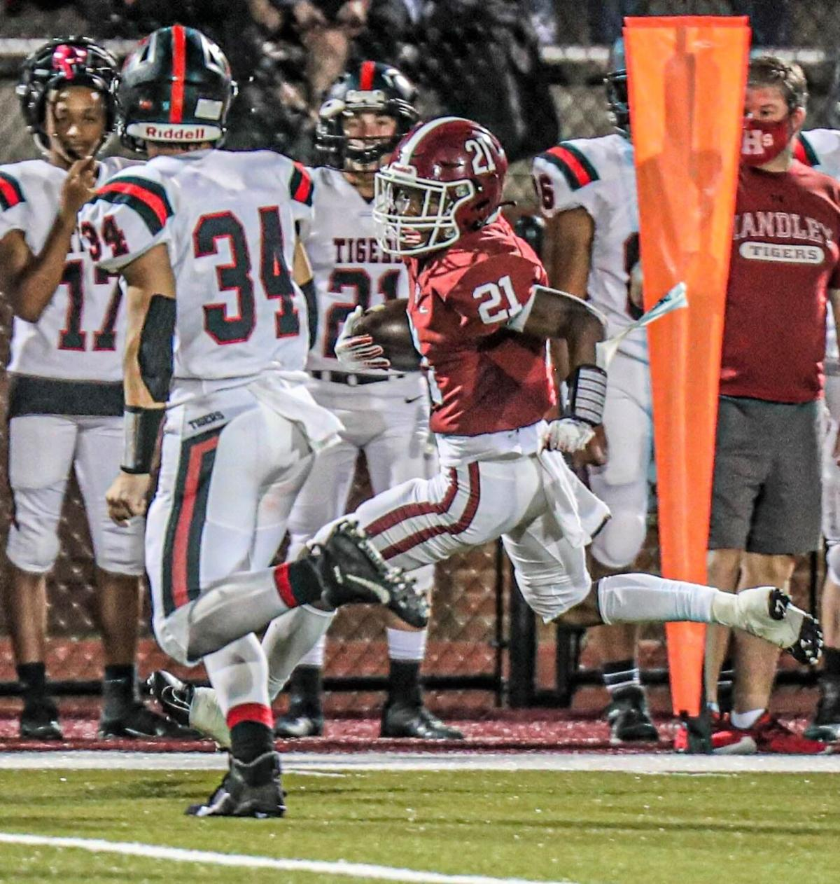 Football Friday Night: Defense, Meadows lead Handley to win over Cleburne County