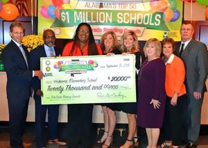 Reading achievement earns Wedowee Elementary $20,000