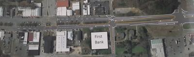 proposed changes to roads in downtown Wedowee