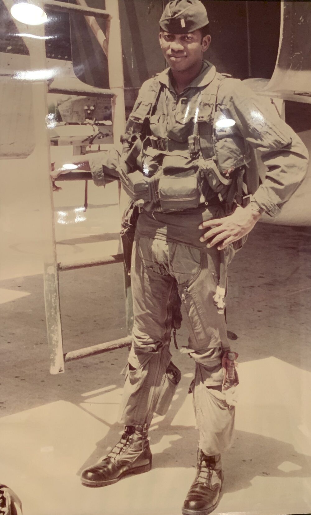Vietnam vet Fig Newton 2 pilot standing.JPG