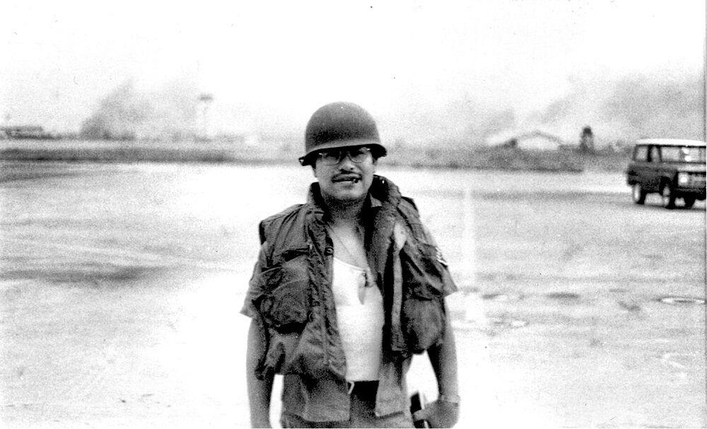Vietnam veteran Mike Lechuga 2 in Vietnam.jpg