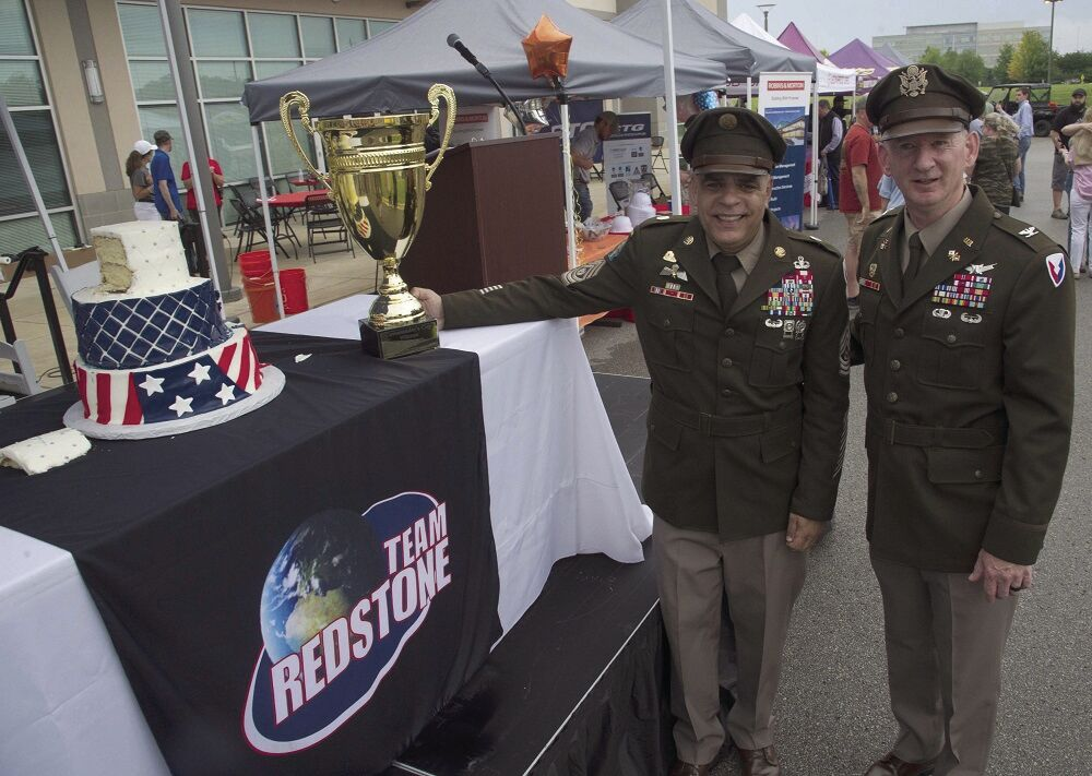 Army birthday 1 cake and trophy.jpg