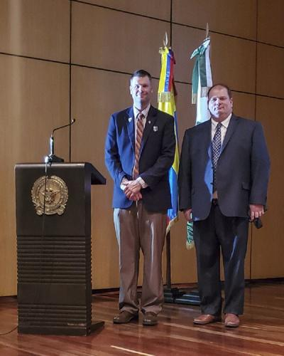 Security assistance managers train Colombians on FMS