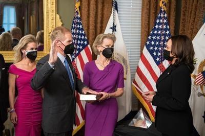 NASA Administrator Bill Nelson Swearing-In Ceremony