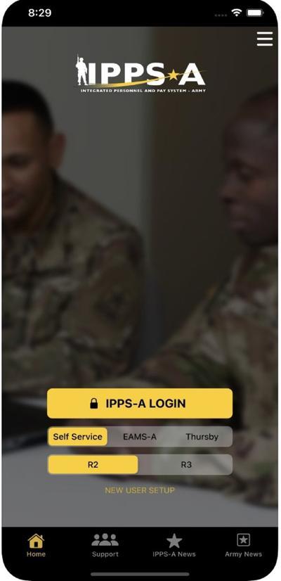 Military com login