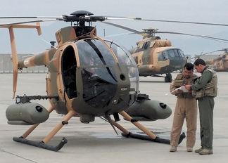 MD530F Afghan Flight Training