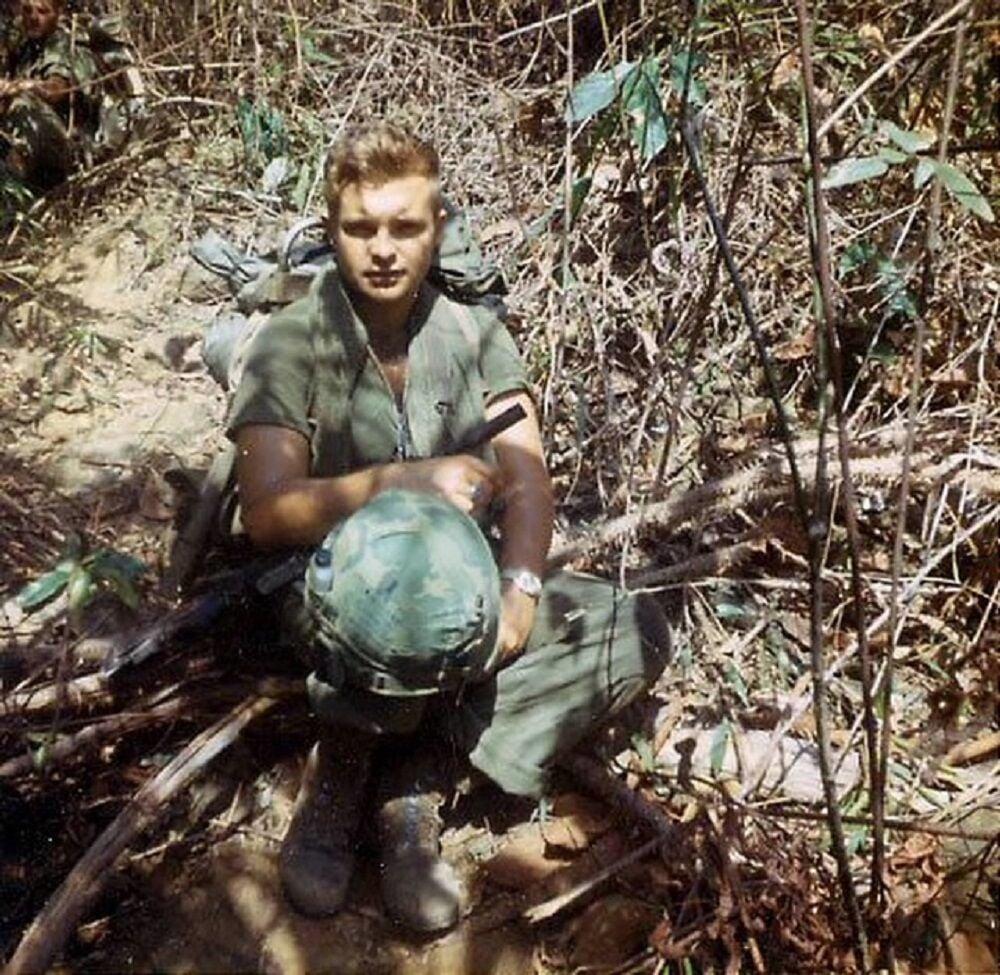 Vietnam veteran Robin Bartlett 1 Soldier in field.jpeg