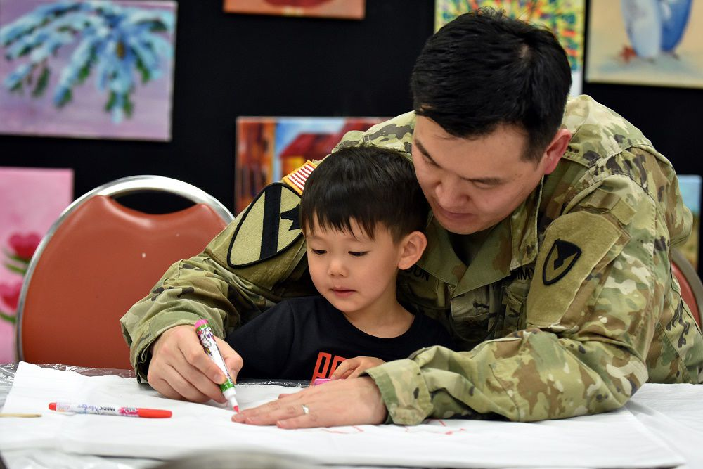 Pillow painting 1 Soldier dad.jpg