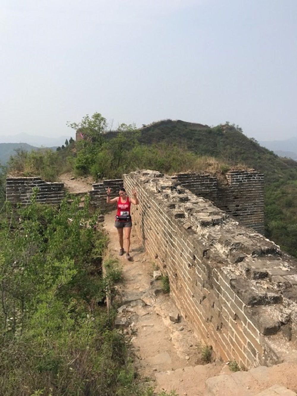 Great Wall marathon 2 on wall.jpg