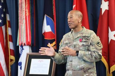 Maj Gen Hamilton moves on.JPG