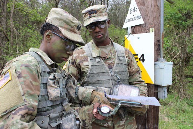 Alabama A&M 2 land navigation duo.jpg
