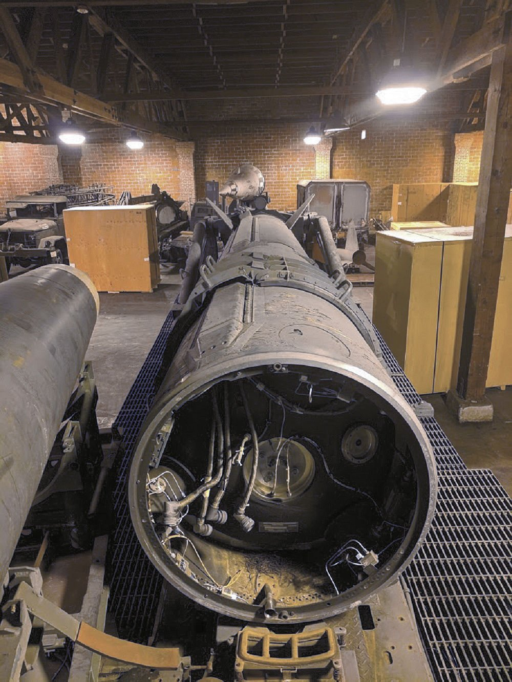 Former Pershing Soldier reunites with historic missile ...