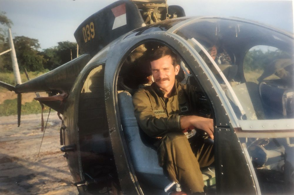Viet vet Doug Madigan 2 helicopter.jpg