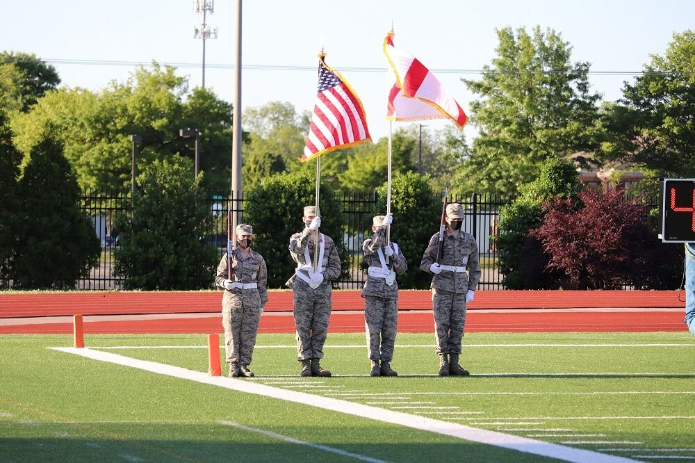 JROTC 1 flags on field.jpg
