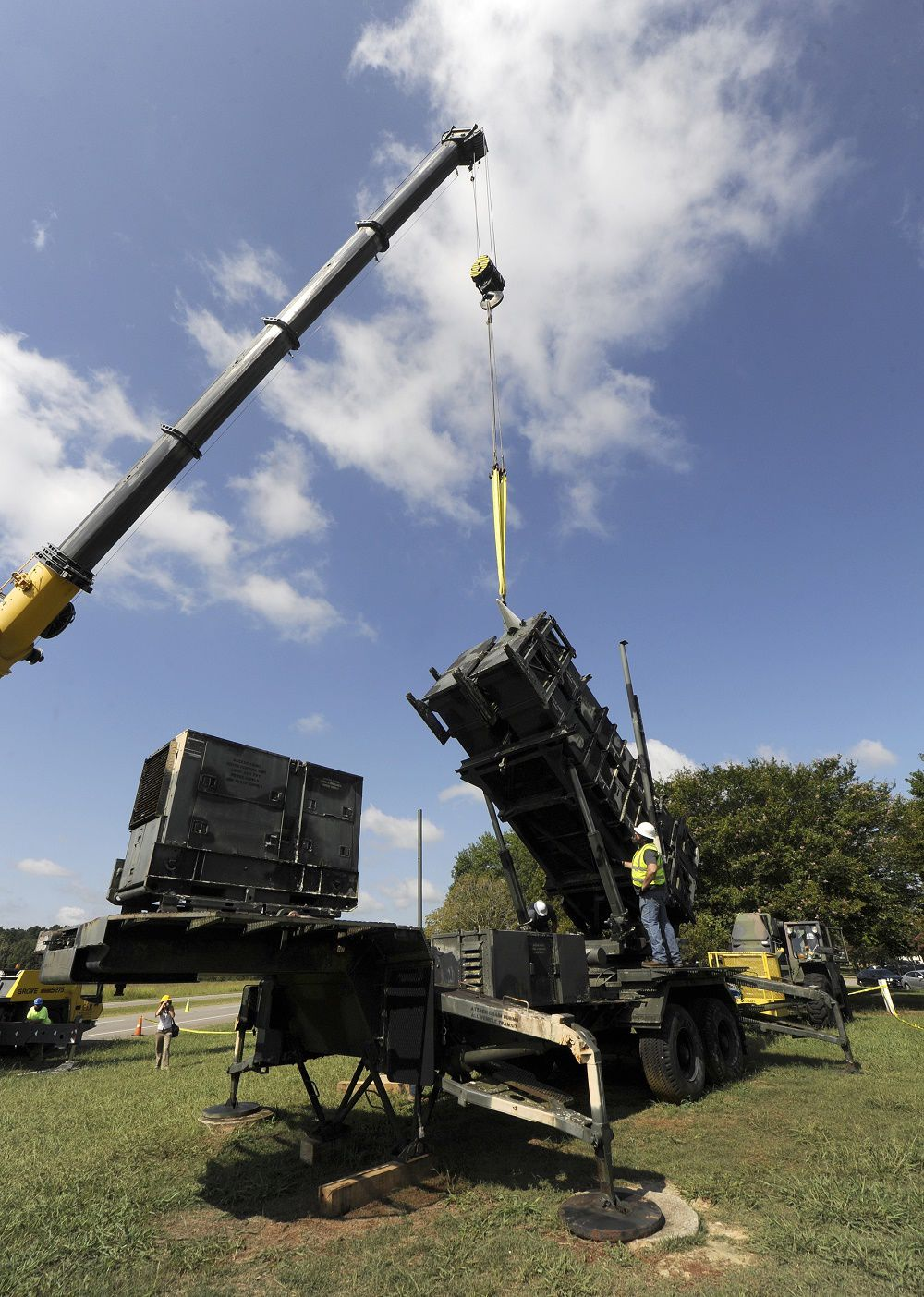 Patriot Launcher Moving To Ft. Sill