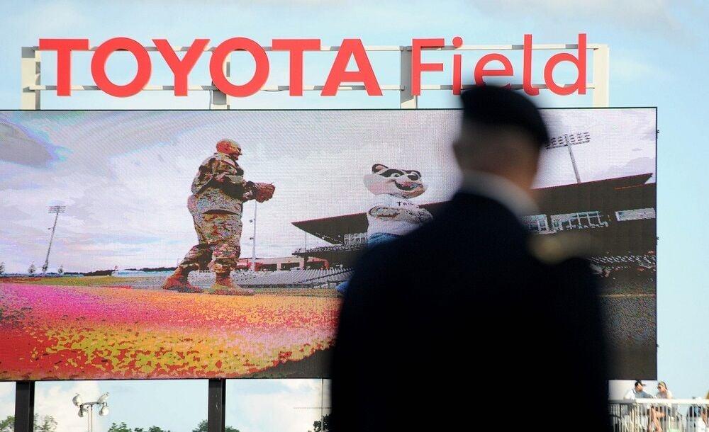 Rocket City Trash Pandas Baseball Military Appreciation Night