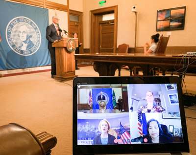 Inslee announces relief efforts for effects of COVID-19 response