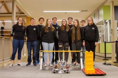 WHS robotics team
