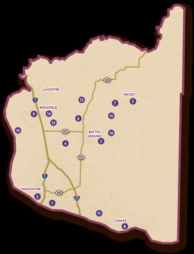 2019 Wine map