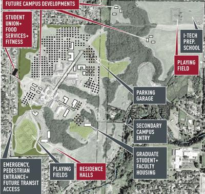 Wsu Vancouver Master Plan Process Nearly Complete News