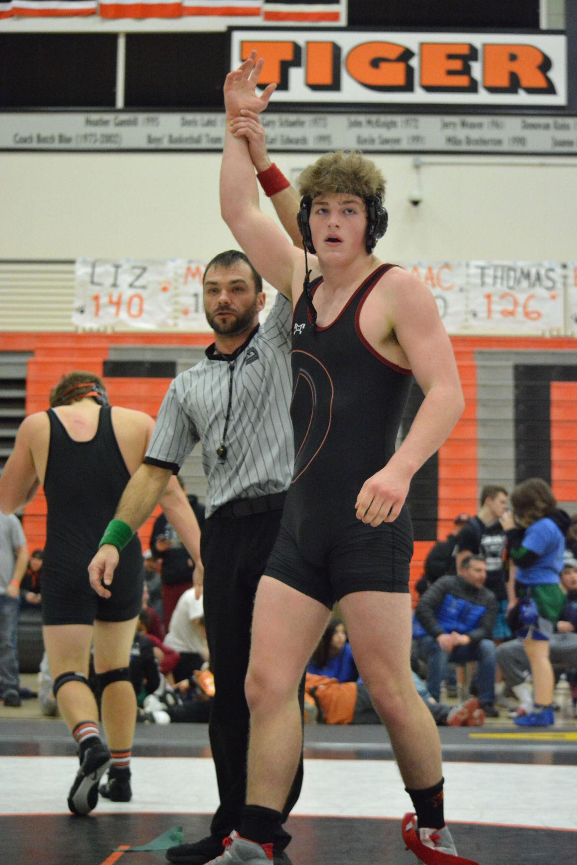 Nick Langer Clark County champion