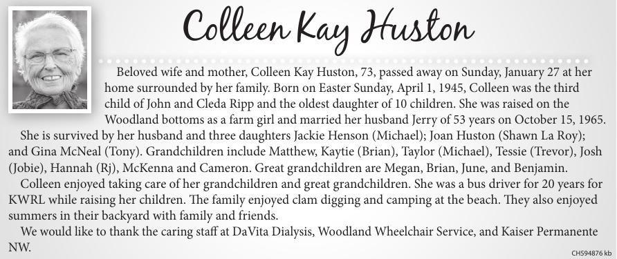 Colleen Kay Huston