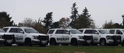 Sheriff's vehicles