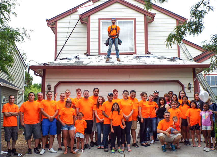 Area Roofing Company Participates In No Roof Left Behind