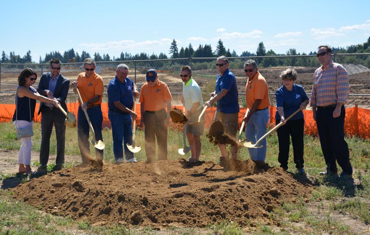 ground broken on new ridgefield sports complex news