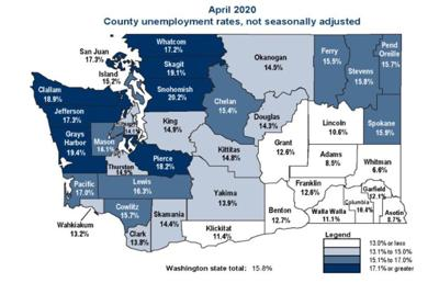 Clark County unemployment sees drastic — and expected — increase in April