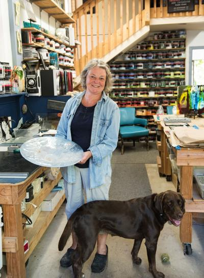 Battle Ground glass artist reflects on her career