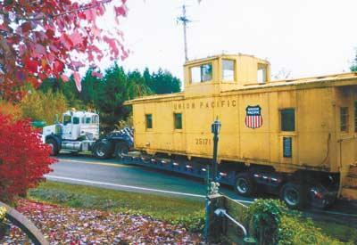 1944 Union Pacific caboose leaves home on BG farm   News