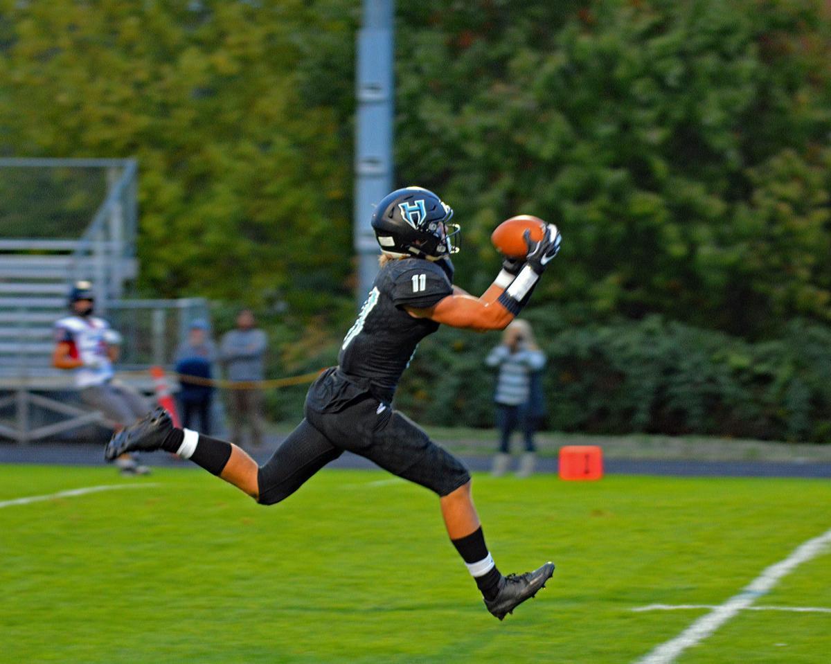 Sawyer Racanelli touchdown