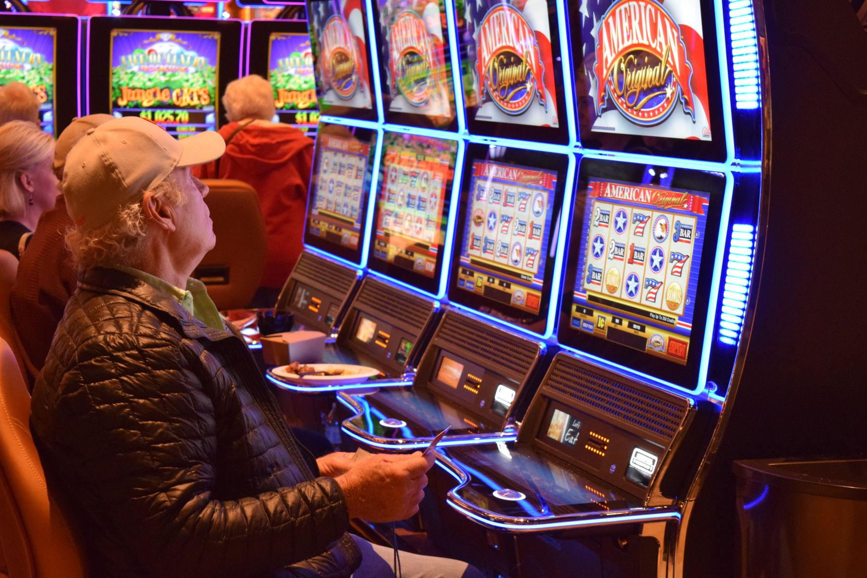 Casinos slot machines washington state allentown gambling addiction center